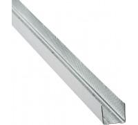 Профиль для гипсокартона UD: 27x28. Длина 3м. РБ. Толщина – 0,5 мм!