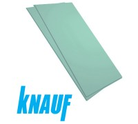 Гипсокартон малоформатный KNAUF влагостойкий 12,5х600х1500 мм. РБ.