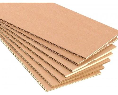 Картон укрывочный трехслойный. Размер листа 2 х 1м. РБ. Толщина 3мм.