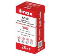 Клей для плитки повышенной фиксации ilmax 3100. РБ, 25 кг.