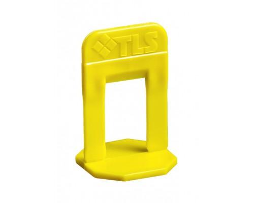 Зажим 1 мм. Система выравнивания плитки TLS Profi. В пачке 100 шт. РБ.