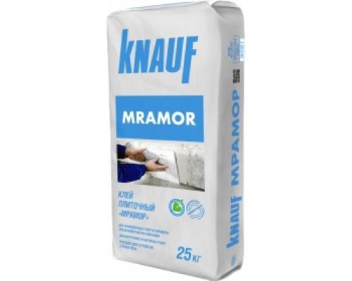 Клей для плитки KNAUF Mramor белого цвета. 25 кг. РФ.