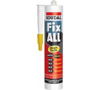 Soudal Fix All High Tack. Гибридный клей-герметик. 290 мл. Бельгия.