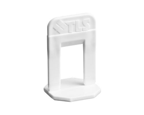 Зажим 1,4мм. Система выравнивания плитки TLS Profi. В пачке 100 шт. РБ.