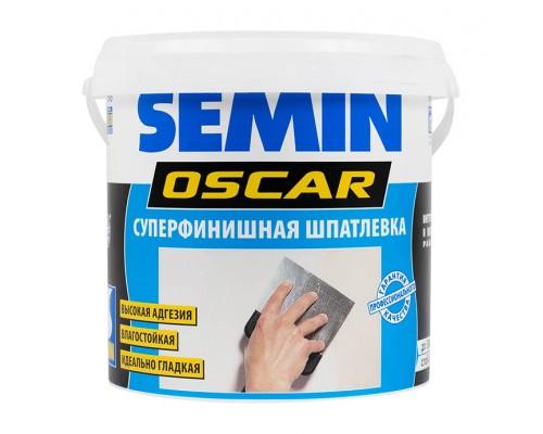 Шпатлёвка финишная SEMIN OSCAR. Супертонкая. 8 кг. РФ.