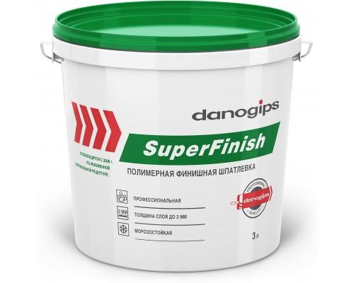 Финишная шпатлевка Danogips. РФ. 5 кг.