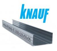 Профиль Knauf для гипсокартона СW: 100x50. Длина 3м. Толщина – 0,6 мм! РФ.