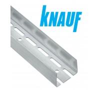 Профиль Knauf для гипсокарт. UA: 75x40, усиленный. Длина 3м. Толщина 2 мм! РФ.