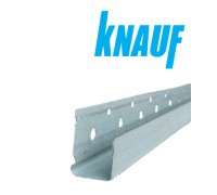Торцевой оцинк. профиль для гипсокартона KNAUF KS-13х3000. Дания.