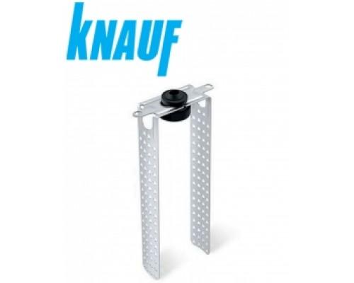 Подвес прямой антивибрационный удлинённый KNAUF. Ребро 20 см. РФ.