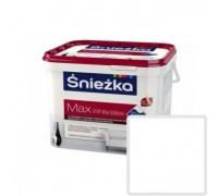 Краска латексная Sniezka Max White Latex белая 9 л