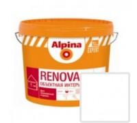Краска акриловая Alpina EXPERT Renova белая 10 л