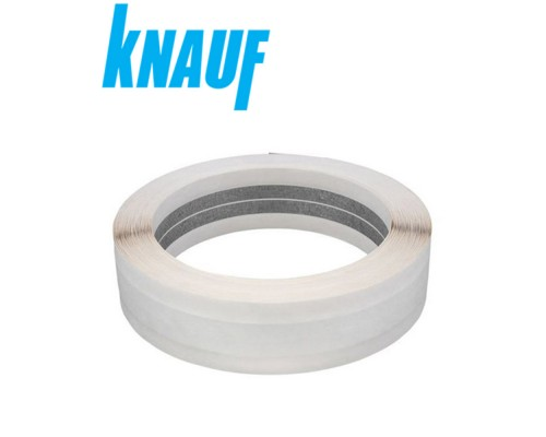 Металлизированная лента KNAUF для внутр. угла. Рулон 30м. Польша.