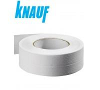 Бумажная лента KNAUF для заделки стыков гипсокартона 23м х 50мм. РФ.