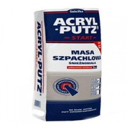 ACRYL-PUTZ Снежно-белая шпатлевочная масса 15кг (РБ)