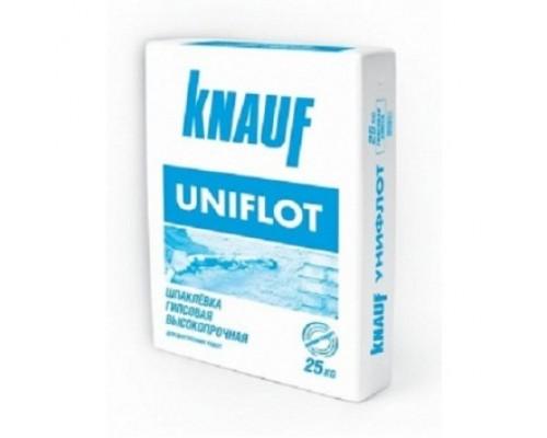 Шпатлевка гипсовая для заделки стыков ГКЛ Knauf Uniflott 25 кг