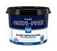 Шпатлевка готовая к применению Acryl Putz Finisz 17 кг