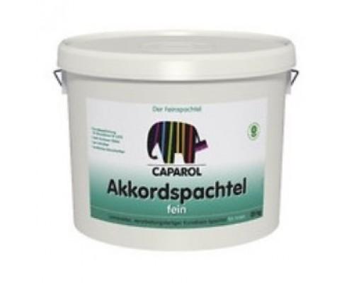 Шпатлевка готовая к применению Caparol  Akkordspachtel Fein 25 кг