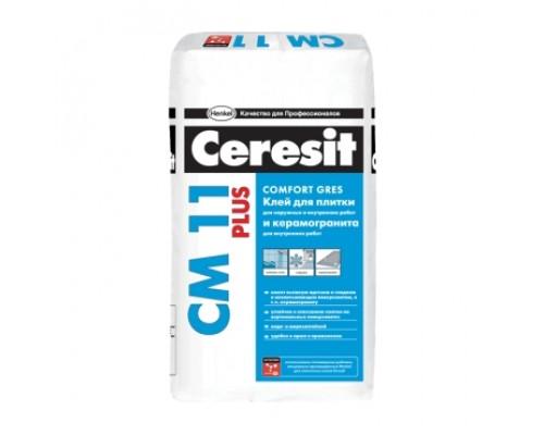Клей для плитки и керамогранита Ceresit CM11 Plus 25 кг