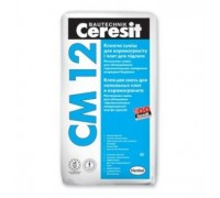 Клей для керамогранита и плит крупного формата Ceresit CM12 25 кг