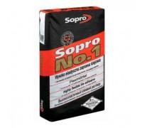 Клей для крупноформатных плит Sopro №1/400 высокоэластичный  25кг
